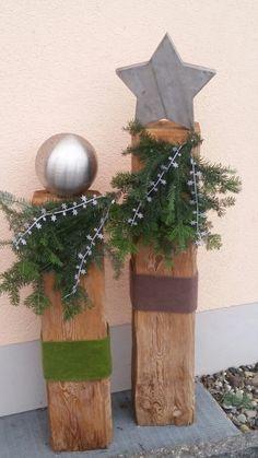 26 Christmas Garden And Patio Decoration Ideas Christmas Garden, Etsy Christmas, Rustic Christmas, Christmas Home, Christmas Wreaths, Christmas Crafts, Xmas, Christmas Ornaments, Advent Wreaths