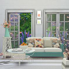 summer breeze livingroom set at black cat phoenix via sims 4 updates