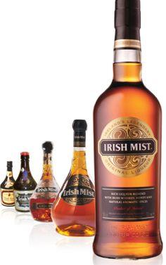 Irish Mist, The Original Irish Whiskey Liqueur Irish Whiskey, Irish Coffee, Honey Wine, Irish Roots, Irish Traditions, Irish Eyes, Ron, Irish Recipes, Liquor Bottles