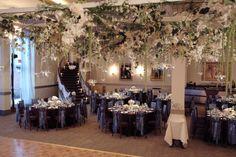 Beautiful Wedding Staircase Decor