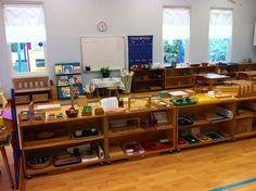 My Montessori Classroom - Math shelves - overview 2