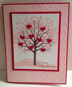 Great Minds Ink Alike: Sheltering Tree Valentine Card