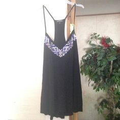 Express tank top Super pretty tank with all gems in tack! Wore once. Size medium. Tops Tank Tops