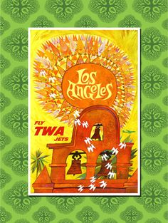 Los Angeles, California Travel Poster Wall Decor, Travel Art (7 print sizes available)