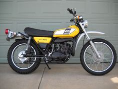 I had one of these when I was in High School. 1975 DT400  Good times, 2nd Bike
