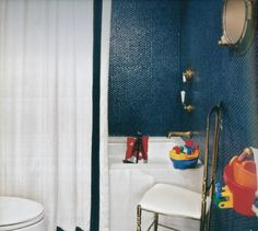 blue penny Bathroom Tiles