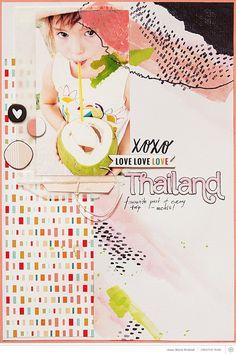 Thailand by aniamaria at Studio Calico