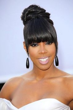 bun for black women - Google Search