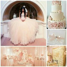Pretty Glitter Quinceanera Dress Modest Ball Gown Tulle Wedding Dress With Beading Long Blush Pink Sweet 15 Prom Gowns · meetdresse · Online Store Powered by Storenvy Robes Quinceanera, Quinceanera Planning, Quinceanera Decorations, Quinceanera Ideas, Sweet 15 Quinceanera, Quince Themes, Quince Decorations, Quince Ideas, Tulle Wedding