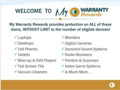 Look at all of the items you can protect for one low monthly rate at My Warranty Rewards! https://www.mwrlife.com/virtuousmom/electronicsplan