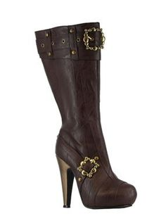 Aubrey Steampunk Adult Boots,$49.94 - $71.35Lower price available on select options