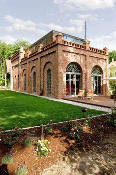 Besondere Immobilien - eine umgebaute Mühle in Leipzig  