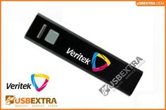 The team at Veritek chose the black casing pbx-203 branded mobile powerbank