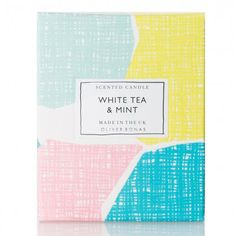 oliver bonas, packaging, print, collage, branding, colour, mark making, summer