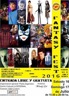 Fantasy Fest 2016 - Buenos Aires, Argentina, 16 y 17 de Julio 2016 ~ Kagi Nippon He ~ Anime Nippon-Jin