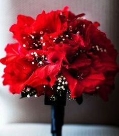 wedding bouquet flowers, red wedding bouquet, bridal bouquet, add pic source on comment and we will update it. www.myfloweraffair.com