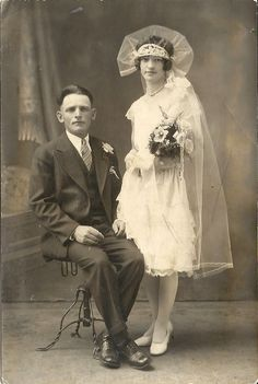 1929 wedding I love it !!!!