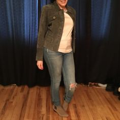 Ann Taylor Leather jacket In excellent condition worn once Ann Taylor Jackets & Coats
