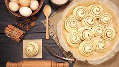 Korvapuusteista syntyy maukas piirakkapohja.  Copyright: Shutterstock.