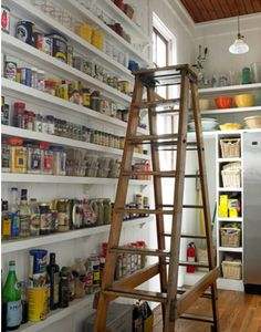 dream pantry  Craig Kettle designer Gridley Graves photography via talkofthehouse.com
