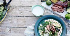Med mørbradbiffer får du en billigere grillmiddag. Frisk, Kiwi, Ramen, Japanese, Ethnic Recipes, Food, Cilantro, Japanese Language, Hoods