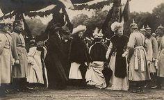 Kaiserin Augusta Viktoria of Prussia | Kaiserin Auguste Viktoria mit Prinzessin Viktoria Luise von Preussen ...