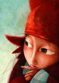 🌿 Illustration by Rebecca Dautremer 🌿 ****** Art And Illustration, Illustrations Posters, Graffiti, Art Fantaisiste, Art Carte, Creation Art, Photo D Art, Whimsical Art, Art Design
