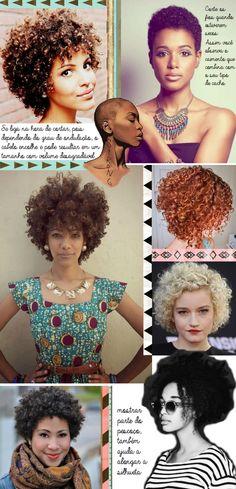 Cortes curtos para cabelos cacheados e crespos | reflexão sobre identidade