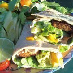 Fish Tacos with Honey-Cumin Cilantro Slaw and Chipotle Mayo Allrecipes.com