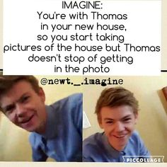 Another cool imagine... How was your day? Here in Spain is 9:30 in the morning so I'm really tired... At 11:00 I'm going to ride (horses)...so later I'll post more . . . If this account achieve 100 followers I'll make 20 imagines and post them! . . . #tbs #thomassangster #newtisbae #tmr #mazerunner #newtimagine