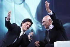 Shahrukh Khan and Yash Chopra  Embedded image permalink