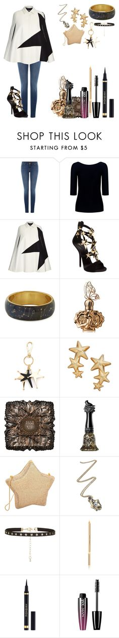 """Untitled #701"" by dragonladydoctor ❤ liked on Polyvore featuring 7 For All Mankind, Theory, MSGM, Giuseppe Zanotti, Anna Sui, Marni, Judith Leiber, Dolce&Gabbana and Yves Saint Laurent"