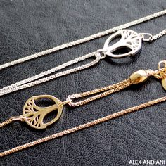 ALEX AND ANI Unexpected Miracles Pull Chain Bracelets! Loving both the silver and gold finishes!