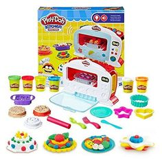 Play-Doh Kitchen Creations Magical Oven Junior Chef Christmas Kids Gift New #PlayDoh