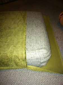 Project Week: DIY Cohen Couch Couch cushion covers on a budget Couch Cushion Covers, Couch Cushions, Outdoor Cushions, Pillow Covers, Diy Couch Covers, Linen Couch, Recover Couch, Couch Redo, Sofa Recovering