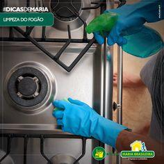 Vinagre na limpeza do fogão - Blog da Maria Brasileira