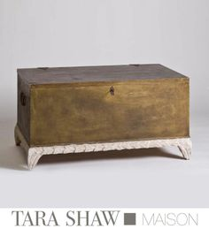 Gilded Coffee Table Chest by Tara Shaw Maison
