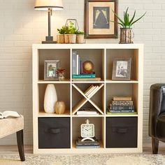See and Store Stacking Bookshelf, Multi-Color