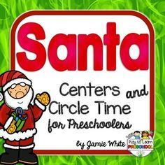 Bring the magic of the season into your classroom with these Santa - Christmas Centers and Circle Time lessons that are designed especially for preschool and Pre-K students!It includes 5 Circle Time Lessons:1.  Christmas Favorites - Creating a Graph2.