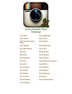 31 Day December Photo Challenge | Flickr - Photo Sharing!