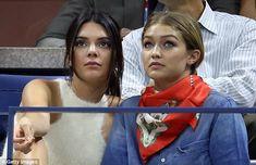 Kendall Jenner plays gooseberry to BFF Gigi Hadid and beau Joe Jonas #dailymail