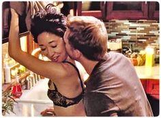 Cristina Yang and Owen Hunt