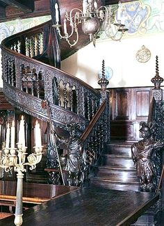 Staircase - This may be the spiral stairs in Pele's Castle.