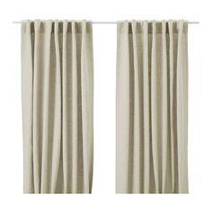 AINA Pair of curtains - natural