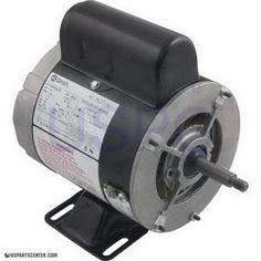 Waterway Motor - Stubby - Circulation - 1/8HP 115V 1SP 48FR 50/60HZ (3410030-1)
