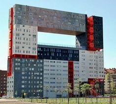 Edificio Mirador in Madrid- like Sean Scully