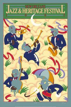 Jazz Fest Poster 1982