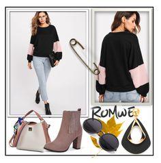 """Romwe 4/10"" by melikasalkic ❤ liked on Polyvore"