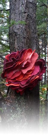 Bloomfelt-Workshop for beginners to advanced felters Marjolein Dallinga