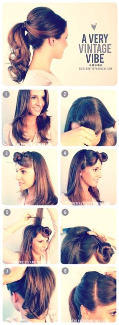 Easy Hairstyles for Work – 1950's Inspired Ponytail – Quick and Easy Hairstyles … Easy Hairstyles for Work – 1950's Inspired Ponytail – Quick and Easy Hairstyles For The Lazy Girl. Great Ideas For Medium Hair, Long Hair, Short H .. http://www.nicehaircuts.info/2017/05/19/easy-hairstyles-for-work-1950s-inspired-ponytail-quick-and-easy-hairstyles/